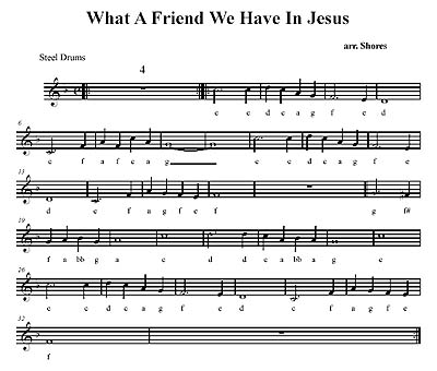 """What A Friend We Have In Jesus"" by Brad Shores"