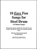 """10 Easy Fun Songs"" by Brad Shores"