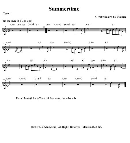 """Summertime"" by Matt Dudack"