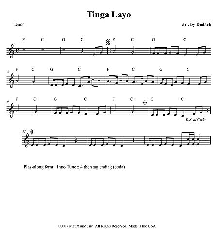 """Tinga Layo"" by Matt Dudack"