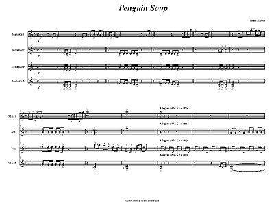 """Penguin Soup"" by Brad Shores"