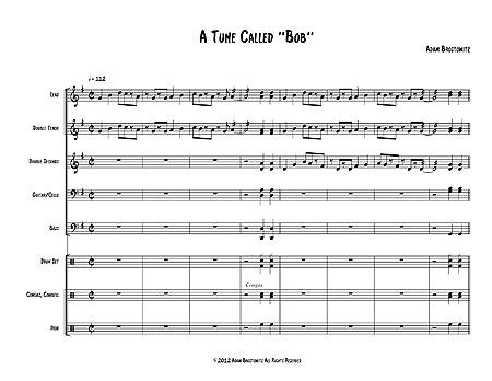 """A Tune Called 'Bob"" by Adam Brostowitz"