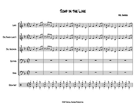 """Jump In The Line"" by De Leon, Bell, Oller & Samuel"