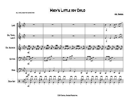 """Mary's Little Boy Child"" by Jester Hairston"