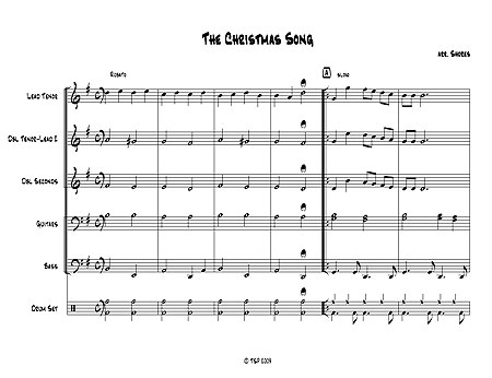 """The Christmas Song"" by Mel Torme & Robert Wells"