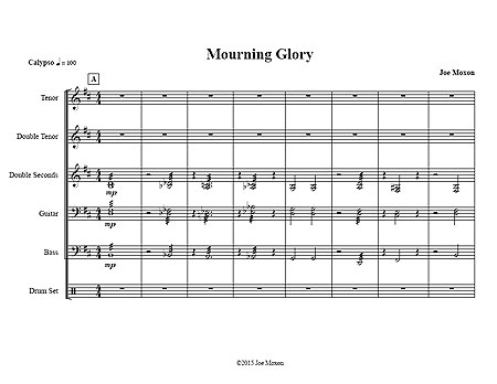 """Mourning Glory"" by Joe Moxon"