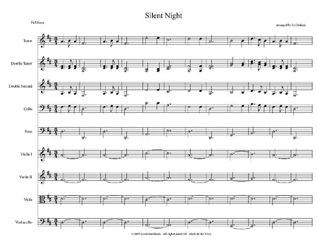 """Silent Night"" by Matt Dudack"