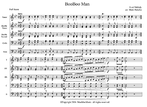 """Boo Boo Man"" by Lord Melody"