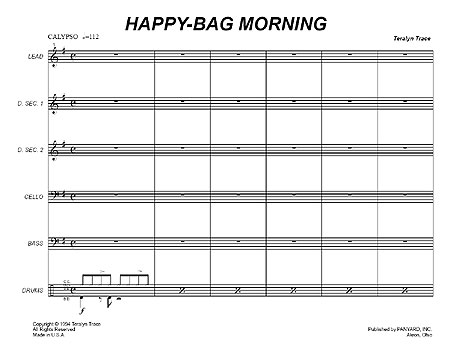 """Happy-Bag Morning"" by Teralyn Trace"