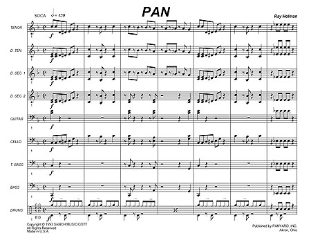 """Pan"" by Ray Holman"