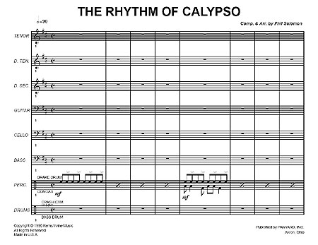"""The Rhythm of Calypso"" by Phil Solomon"