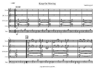 """Keep On Moving"" by Sune Borregaard"