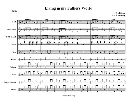 """Living in my Father's World"" by Scott Ramsburg"