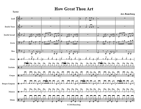 """How Great Thou Art"" Traditional"
