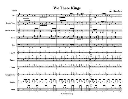 """We Three Kings"" by Scott Ramsburg"